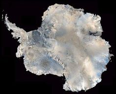 Antarctica, from Satellite....