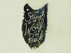 Wolf Pack Tattoo, Tattoo Font For Men, Tattoo Fonts, Tattoo Quotes, Wolf Pack Quotes, Wolf Quotes, Best Tattoos For Women, Tattoos For Guys, Cool Tattoos