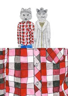 Illustrations by Cape Town-based Lauren Fowler Sketch Inspiration, Typography Inspiration, Illustration Sketches, Illustrations, Garden Mural, Unique Logo, Letter Logo, Spirit Animal, New Work