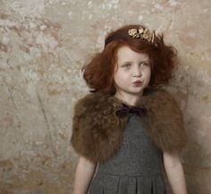 Monsoon kids, sweet images for children's fashion winter 2011 by Julia Bostock | smudgetikka