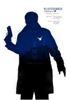 Blade Runner (1982) ~ Minimal Movie Poster by Joseph Harrold #amusementphile