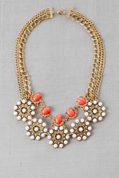 Mumbai Multi Chain Statement Necklace pinned from  http://www.pinterest.com/source/francescas.com/