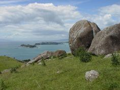 Rock formation at Stony Batter Historic Reserve   Walks in Auckland   Auckland NZ