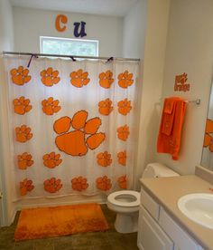 Clemson Bathroom