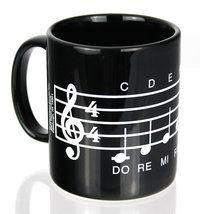 Tasse Notenzeile Do-re-mi-fa-so-la-ti-do ♫♪ ☕ www.musiker-geschenke.com/Tassen