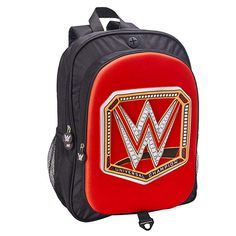 WWE School Backpacks and Lunch Bags - Cool Stuff to Buy and Collect Booker T Wwe, Wwe Wrestling Action Figures, Wwf Hasbro, Wwe Belts, Wwe Toys, Back To School Backpacks, Bray Wyatt, Wrestling Superstars, Aj Styles