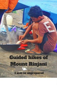 A three day trek of Mount Rinjani in Lombok, Indonesia. I was totally not ready for this!