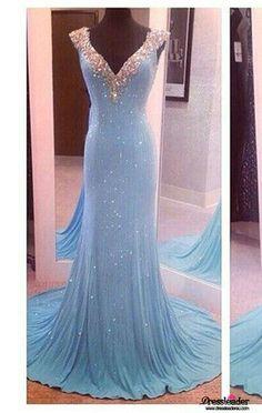 Green V Neck Backless Long Trumpet Mermaid Formal Dress Lcau0056 Dress Long 9e7d43519