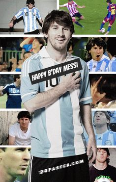 Happy bday Messi. May u have an amazing year.