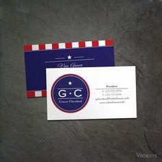 blue patriotic business cards vistaprint business card templates business card design business cards - Vista Business Cards