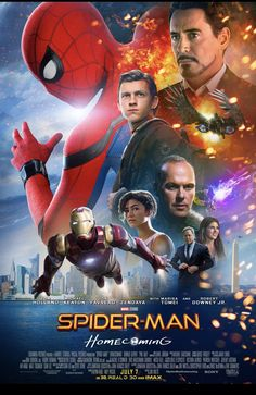NEW!!! Poster from Spider-Man: Homecoming.
