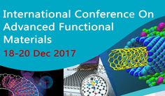 **International Conference on Advanced Functional Materials** Date & Venue of Seminar: 18-20 Dec, 2017 at RGUKT Basar.For More Details Please Follow Below Link-->> http://www.rgukt.ac.in/icafm.html