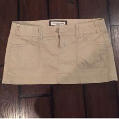 Abercrombie 00 stretch skirt Size 00 mini skirt Abercrombie & Fitch Skirts Mini