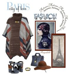 """""""Dagen antrekk / Today's Outfit September 1st"""" by ragnh-mjos ❤ liked on Polyvore featuring Roberto Cavalli, Topshop, Anna Field, contest, outfitoftheday and eiffeltower"""