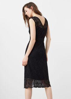 Φόρεμα δαντέλα | MANGO ΜΑΝΓΚΟ