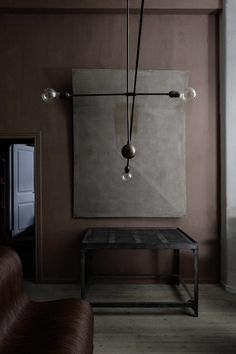 Moody Interiors by Olivier Gustav via Eclectic Trends