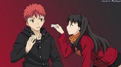 Shirou/Rin In A Date. by Karinkoenig15 on DeviantArt
