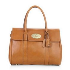 788da42042af Bayswater Grained Leather Medium Satchel by Mulberry at Gilt