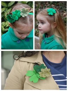 Weekday Crafternoon: DIY Felt Shamrock Craft From HGTV's Design Happens Blog (http://blog.hgtv.com/design/2013/02/26/weekday-crafternoon-diy-felt-shamrock-craft/?soc=pinterest)