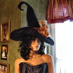 Candy Corn Halloween Witch Costume. $225.00, via Etsy.