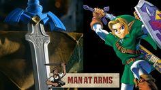 Link's Master Sword (Legend of Zelda) - MAN AT ARMS @mortika  lol u should make this :D