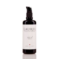 Laurel Organics California Body Oil:  CaliforniaThis body oil features Avocado, Rosehip Seed, and Tamanu for their rich texture, rich vitamin and mineral content, and healing nature. Red Raspberry Seed Oil is a stand out in this formula as well, adding to the other oils' pre-existing sun protection properties. Organic and therapeutic grade essential oils of Rose, Sandalwood, Vetiver, Scotch Pine, and Cedarwood are chosen to reflect some of the many scents of California