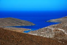 This is an original Greek Island sight ....simle blue sky, blue sea and rocks!!!So simple, so beautiful!     lovely life