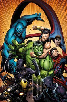 #Hulk #Fan #Art. (NEW AVENGERS #22 & 23 Cover) By: DALE KEOWN. (THE * 3 * STÅR * ÅWARD OF: AW YEAH, IT'S MAJOR ÅWESOMENESS!!!™)[THANK Ü 4 PINNING!!!<·><]<©>ÅÅÅ+(OB4E)