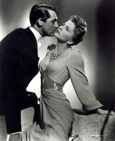 Joan Fontaine gives an Oscar Winning Performance with Cary Grant, in Suspicion, directed by Alfred Hitchcock (1941)