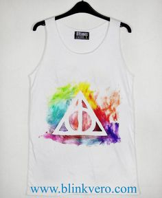 Harry Potter Deathly Hallows  Unisex Tank Top Available Size S M L XL XXL XXXL For Men and Women Adult //Price: $15.10 & FREE Shipping //     #t shirts
