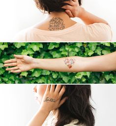 Tattly x Rifle Paper Co. = The Most Beautiful Temporary Tattoos Ever | Brit + Co