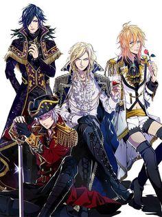 Uta no Prince-sama - Tokiya, Ranmaru, Camus and Ren - Joker Trap **w** <3