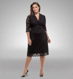 93b5b34a906  plussize from Kiyonna Plus Size Lace Dress