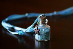 Mermaid Bubbles necklace. Party favor idea perhaps.