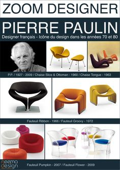 Pierre Paulin - icons of the 20th Century