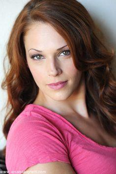 Amanda Righetti. Grace Van Pelt from the Mentalist. She is just so gorgeous. ^.^
