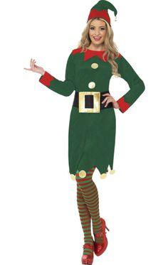 Ladies' Elf Costume