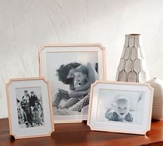 Cherish your memories in a Monique Lhuillier Marlowe Frames from the Monique Lhuiller for Pottery Barn collection. These frames also make a great thank you gift!