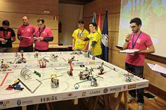 Celebración de la First Lego League en el campus de Ferrol (foto: Raúl Salgado)