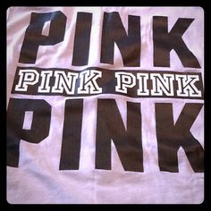bnwt vs pink campus tank top 25 bnwt vs pink campus tank top light grey colored oversized pocket tank top with pink written in blackwhite on the back and