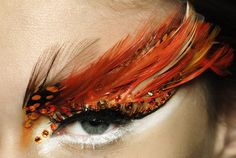 eye makeup at Christian Dior Haute Couture Spring/Summer
