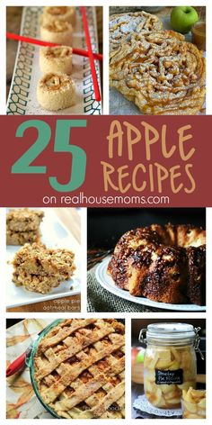 25 Apple Recipes on Real Housemoms