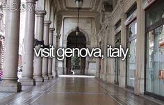 visit genova, italy