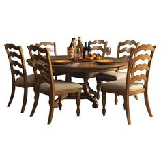 Elegant The Best Part About This Kenton 5 Piece Dining Set May Be Its Ability To  Mix And Match Styles So Well! Its Dark Walnut And Ebony Finishes Serve Up U2026
