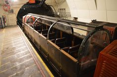 Hidden beneath the streets of London is a secret subway that only carries mail