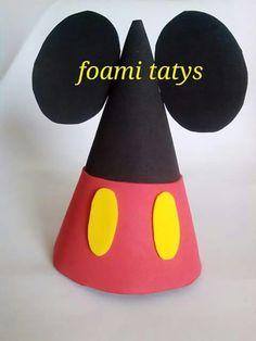 Gorro de fiesta mickey mouse