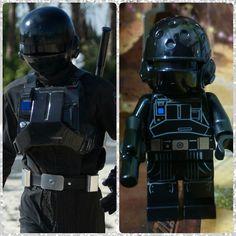 Día 21: Imperial ground crew / Equipo de tierra imperial #starwars #rogueone #empire #Lego #instalego #legogram #afol #adventcalendar #calendarioadviento #minifigure