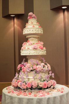 秋の装花 目黒雅叙園 舞扇さまへ 安室奈美恵風に ケーキ装花