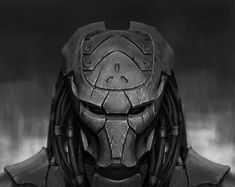 by Toxa Snake Predator Tattoo, Predator Helmet, Alien Vs Predator, Guile Street Fighter, Predator Costume, Star Wars Characters Pictures, Female Armor, Alien Creatures, Alien Art
