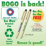 Eco Max Recycled Pen  #Promotions #Promociones #Miami #USA #Venezuela #2013